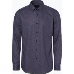 BOSS - Koszula męska – Isko, niebieski. Czarne koszule męskie marki Boss, m. Za 479,95 zł.