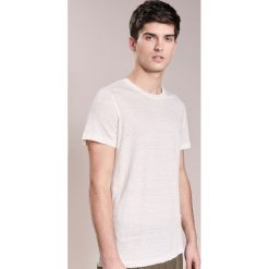 T-shirty męskie: 120% Lino UOMO GIROCOL Tshirt basic natural