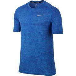 T-shirty męskie: koszulka do biegania męska NIKE DRI-FIT KNIT TOP SHORT SLEEVE / 833562-432 – NIKE DRI-FIT KNIT TOP SHORT SLEEVE