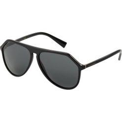 Dolce&Gabbana Okulary przeciwsłoneczne black/grey. Czarne okulary przeciwsłoneczne męskie wayfarery Dolce&Gabbana. Za 989,00 zł.