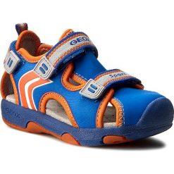Sandały GEOX - B Sand. Multy B. B620FB 01550 C0685 Królewski/Pomarańcz. Niebieskie sandały męskie skórzane marki Geox. W wyprzedaży za 149,00 zł.