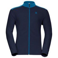 Odlo Bluza tech. Odlo Midlayer full zip LE TOUR                - 528242 - 528242/28700/XL. Czarne bluzy sportowe damskie marki DOMYOS, z elastanu. Za 176,53 zł.