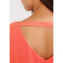 Bluzki asymetryczne: Wallis Petite SCATTER HOTFIX OVERLAYER Bluzka orange
