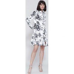 Sukienki: Biało-Czarna Sukienka Princes Lily