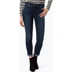Spodnie z wysokim stanem: Cambio - Spodnie damskie – Jenice, niebieski