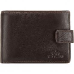 Portfel 02-1-038-4. Czarne portfele męskie Wittchen. Za 329,00 zł.
