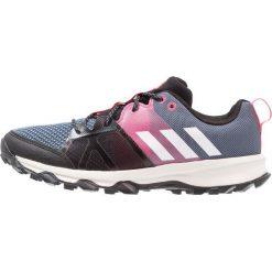 Adidas Performance KANADIA 8.1 Obuwie do biegania Szlak raw steel/offwhite/real pink. Brązowe buty do biegania damskie marki adidas Performance, z gumy. W wyprzedaży za 224,10 zł.