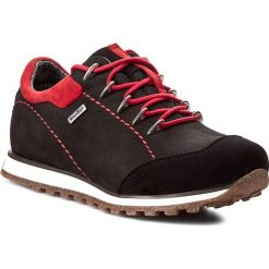 Półbuty NIK - 05-0193-001 Czarny. Czarne buty zimowe damskie Nik, z nubiku, na wysokim obcasie. W wyprzedaży za 209,00 zł.