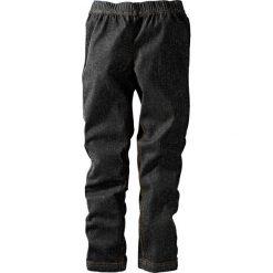 """Legginsy dżinsowe bonprix czarny """"stone"""" XXL. Czarne legginsy dziewczęce marki bonprix, w paski, z dresówki. Za 24,99 zł."""