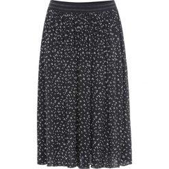 Spódnica w kropki bonprix czarno-biały w kropki. Czarne spódniczki bonprix, w kropki. Za 109,99 zł.