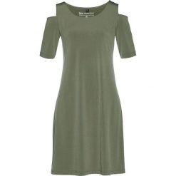 Sukienki: Sukienka shirtowa bonprix oliwkowy