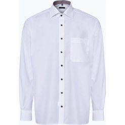 Eterna Comfort Fit - Koszula męska niewymagająca prasowania, czarny. Czarne koszule męskie non-iron Eterna Comfort Fit, m, z kontrastowym kołnierzykiem. Za 179,95 zł.
