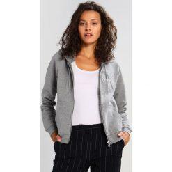 Calvin Klein Jeans HOLT HOODED ZIP THRU Bluza rozpinana light grey heather. Szare bluzy rozpinane damskie marki Calvin Klein Jeans, xs, z bawełny. W wyprzedaży za 411,75 zł.