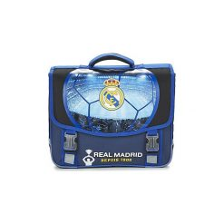 Aktówki damskie: Teczki Dessins Animés  FOOTBALL REAL MADRID CARTABLE TROLLEY 41CM