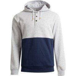 Bluza męska BLM603 - chłodny jasny szary melaż - Outhorn. Szare bluzy męskie rozpinane Outhorn, m. W wyprzedaży za 99,99 zł.