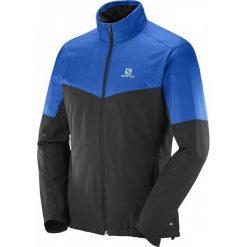 Salomon Kurtka Escape Jkt M Blue Yonder/Black S. Szare kurtki narciarskie męskie marki Salomon, z gore-texu, na sznurówki, gore-tex. W wyprzedaży za 399,00 zł.