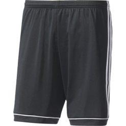 Spodenki sportowe męskie: Adidas Spodenki piłkarskie męskie Squadra 17 z podszewką czarno-białe r. M (BK4768)