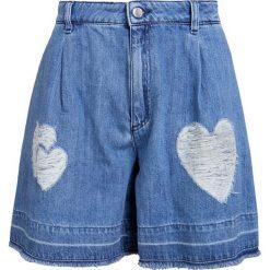 Odzież damska: Love Moschino Szorty jeansowe light denim