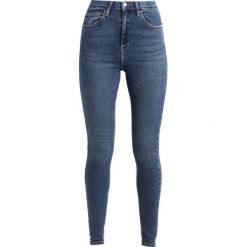 Topshop Tall JAMIE Jeans Skinny Fit mid denim. Niebieskie boyfriendy damskie Topshop Tall. Za 229,00 zł.