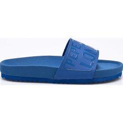 Pepe Jeans - Klapki dziecięce Bio Royal Block. Szare klapki chłopięce marki Pepe Jeans, z jeansu. W wyprzedaży za 149,90 zł.