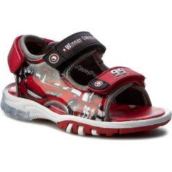 Sandały CARS - CP44-5112DCARS Czerwony. Czerwone sandały męskie skórzane Cars. Za 79,99 zł.