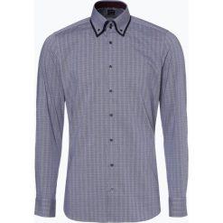 Olymp Level Five - Koszula męska łatwa w prasowaniu, niebieski. Niebieskie koszule męskie na spinki marki OLYMP Level Five, m, paisley, ze stójką. Za 299,95 zł.