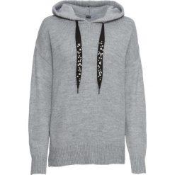 Sweter z kapturem bonprix szary melanż. Szare swetry klasyczne damskie marki Reserved, m, z kapturem. Za 109,99 zł.