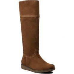 Kozaki LASOCKI - WI23-CREMONA-03 Camel. Brązowe buty zimowe damskie Lasocki, z materiału. W wyprzedaży za 125,00 zł.