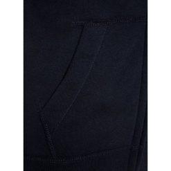 Abercrombie & Fitch LOGO CORE  Bluza rozpinana navy. Niebieskie bluzy chłopięce rozpinane Abercrombie & Fitch, z bawełny. W wyprzedaży za 152,10 zł.