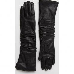 Answear - Rękawiczki skórzane Animal Me. Czerwone rękawiczki damskie ANSWEAR, z materiału. Za 129,90 zł.