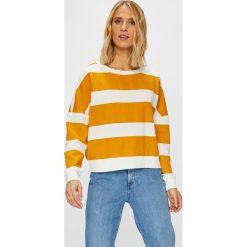 Only - Bluza Kamma. Szare bluzy damskie marki ONLY, s, z bawełny, casualowe, z okrągłym kołnierzem. Za 119,90 zł.