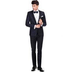 Garnitur ślubny LIVIO GAGS000133. Niebieskie garnitury Giacomo Conti, z wełny. Za 2199,00 zł.
