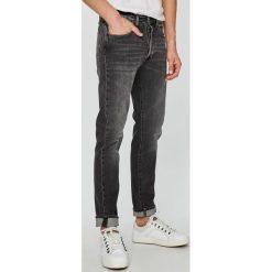 Levi's - Jeansy 501. Brązowe jeansy męskie regular Levi's®, z bawełny. W wyprzedaży za 259,90 zł.