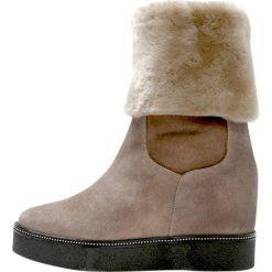 Śniegowce damskie: MA&LO Śniegowce softy ardesia