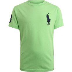 Polo Ralph Lauren BIG Tshirt z nadrukiem new lime. Zielone t-shirty chłopięce Polo Ralph Lauren, z nadrukiem, z bawełny. Za 169,00 zł.
