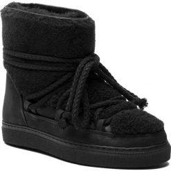 Buty INUIKII - Sneaker Curly 70202-16 Black-Blk Cot. Laces. Czarne buty zimowe damskie Inuikii, z nubiku. Za 1349,00 zł.