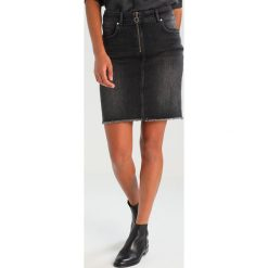 Odzież damska: Mustang FANCY SKIRT Spódnica jeansowa dark