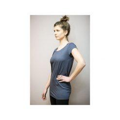 Tunika granat/ z organicznej bawełny. Niebieskie tuniki damskie marki Siss, m, z bawełny. Za 99,00 zł.