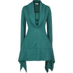 Innocent Shasia Dress Sukienka niebieski (Petrol). Niebieskie sukienki marki Innocent, xl, w ażurowe wzory, z materiału, z dekoltem na plecach. Za 199,90 zł.