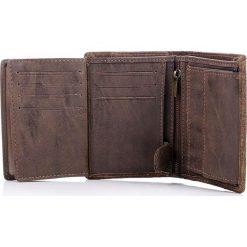 Skórzany granatowy mocny męski portfel HAROLD`S. Niebieskie portfele męskie Harold's, ze skóry. Za 59,00 zł.