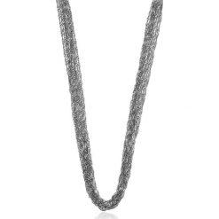 Unikalny Naszyjnik - srebro 925. Szare naszyjniki damskie W.KRUK, srebrne. Za 299,00 zł.