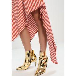 Długie spódnice: Topshop BOUTIQUE STRIPE KNOT Długa spódnica multi