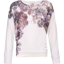 Bluzy rozpinane damskie: Bluza Deha Biały|Print