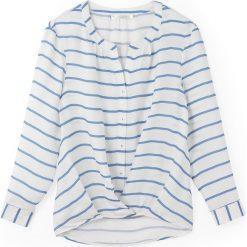 Bluzki asymetryczne: Bluzka z długim rękawem w paski