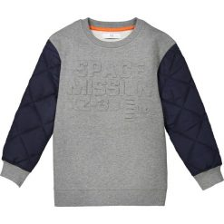 Odzież chłopięca: Bluza z dwóch rodzajów materiału 3-12 lat