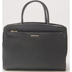 Duża torba tote - Czarny. Czarne torebki klasyczne damskie House, duże. W wyprzedaży za 69,99 zł.