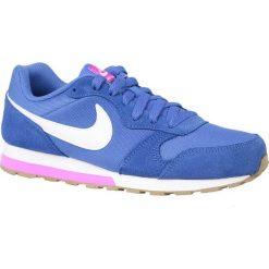 Buciki niemowlęce: Nike Buty dziecięce Md Runner 2 Gs niebieskie r. 37.5 (807319-404)