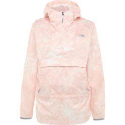 The North Face FANORAK Kurtka Outdoor rose. Różowe kurtki damskie turystyczne marki The North Face, m, z nadrukiem, z bawełny. Za 499,00 zł.