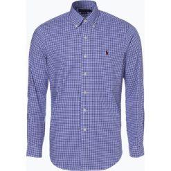 Polo Ralph Lauren - Koszula męska – Slim Fit, niebieski. Niebieskie koszule męskie na spinki Polo Ralph Lauren, m, z klasycznym kołnierzykiem. Za 499,95 zł.