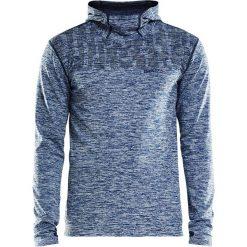 Bluza sportowa CRAFT Core 2.0 Hood M. Czerwone bluzy męskie rozpinane marki Astratex, w koronkowe wzory, z wiskozy. Za 232,99 zł.